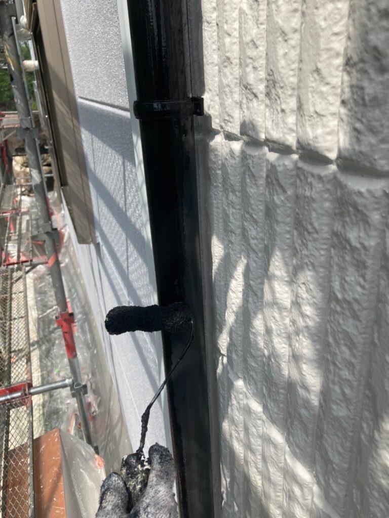 三養基郡 屋根塗装(中塗り) 付帯塗装 写真14