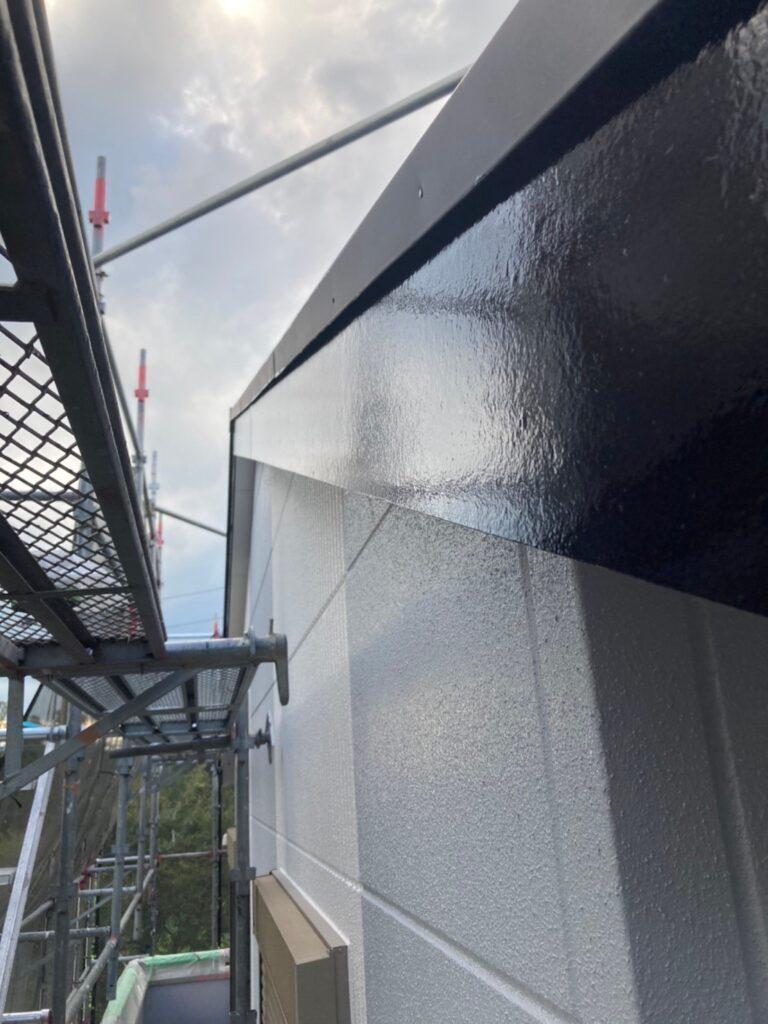 三養基郡 屋根塗装(中塗り) 付帯塗装 写真16