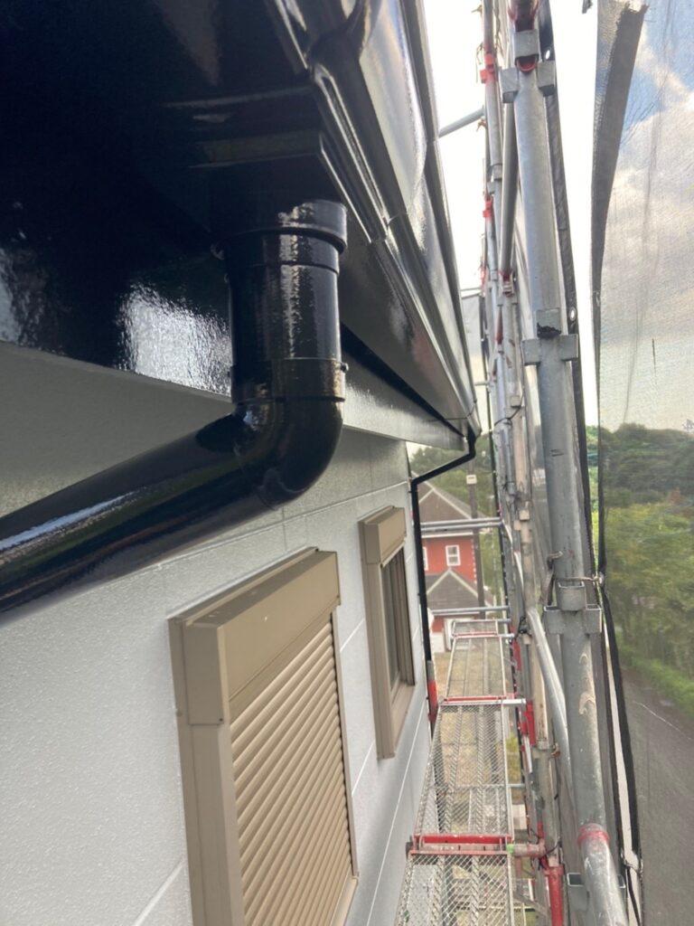 三養基郡 屋根塗装(中塗り) 付帯塗装 写真18