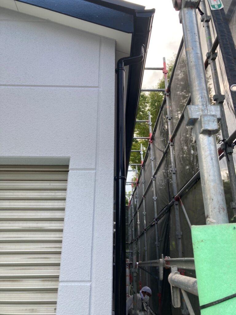 三養基郡 屋根塗装(中塗り) 付帯塗装 写真20