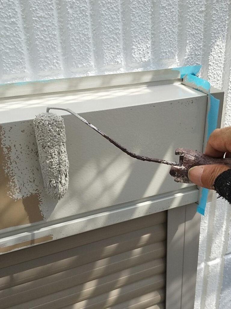 三養基郡 屋根塗装(縁切り・上塗り)など 写真11