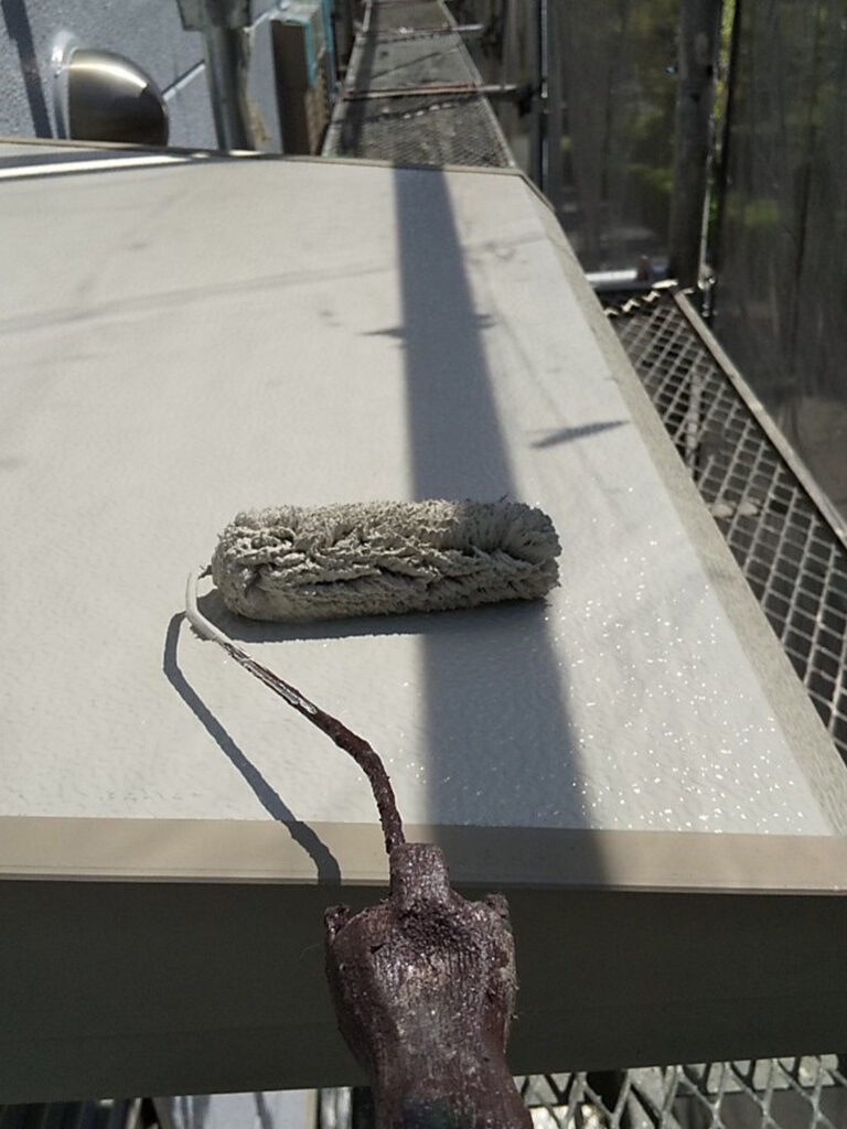 三養基郡 屋根塗装(縁切り・上塗り)など 写真12