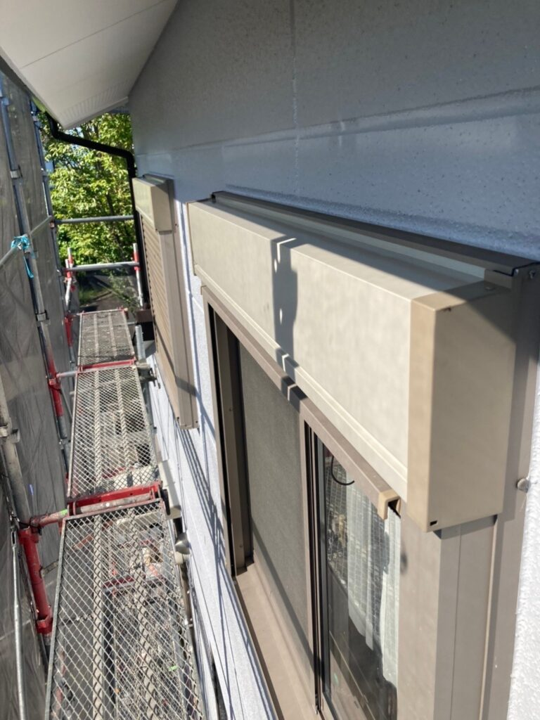 三養基郡 屋根塗装(縁切り・上塗り)など 写真15