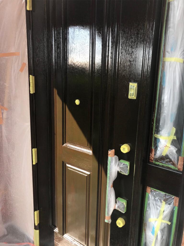 匠の技!木製玄関ドア塗装 写真18