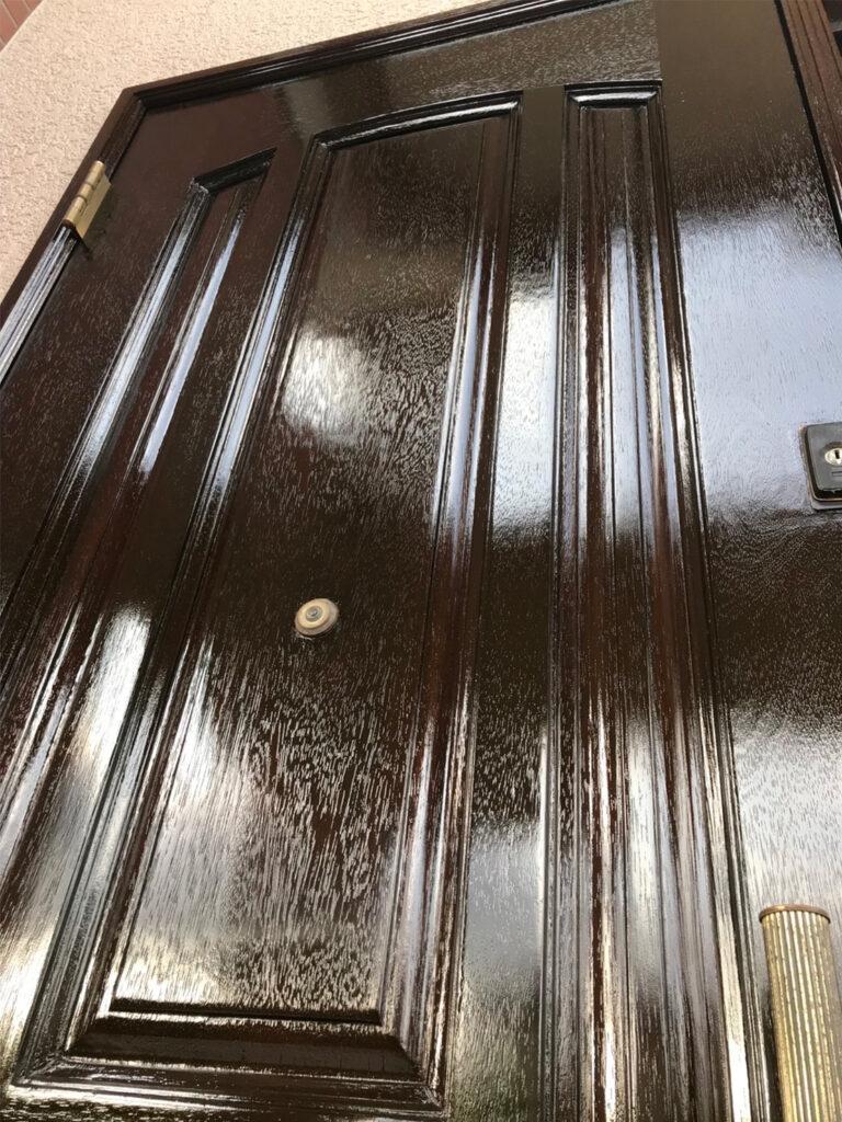 匠の技!木製玄関ドア塗装 写真21