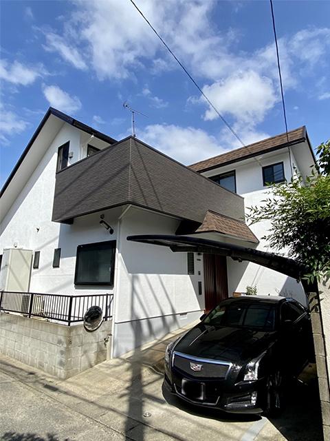福岡県福岡市東区 K様邸:フジヤマ建装施工事例