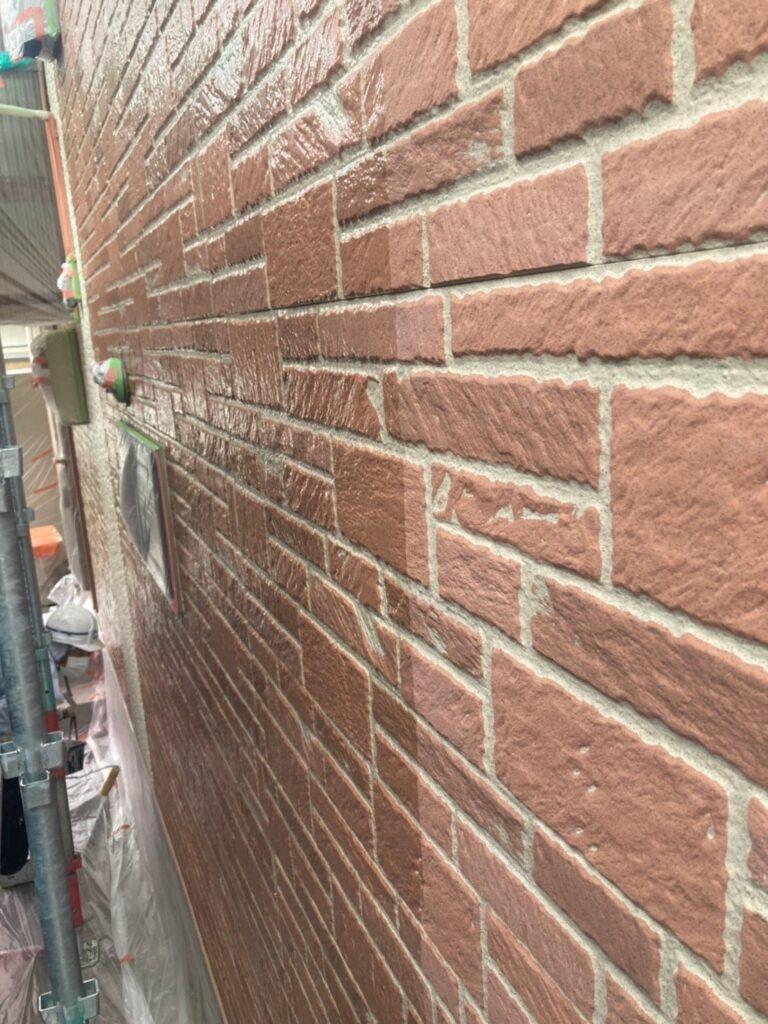 久留米市 外壁クリヤー塗装1回目 写真3