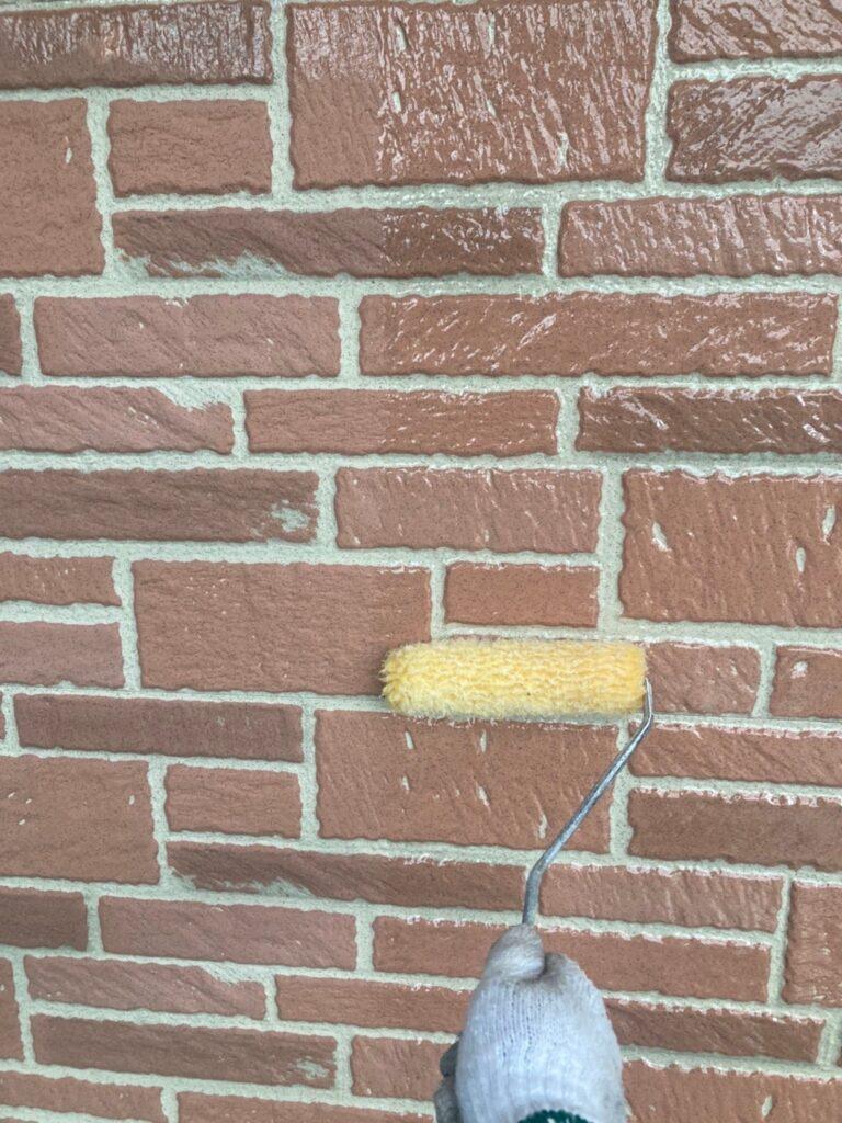 久留米市 外壁クリヤー塗装1回目 写真5