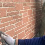 久留米市 外壁クリヤー塗装1回目