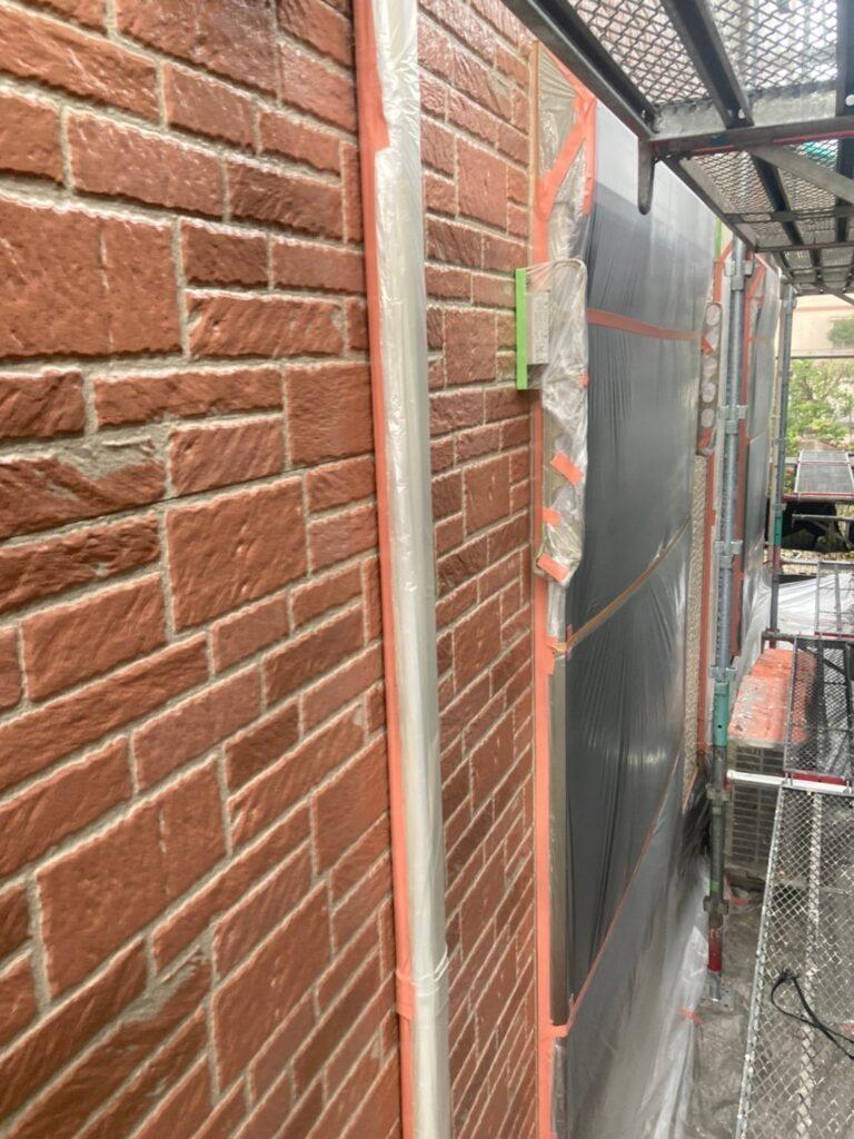 久留米市 外壁クリヤー塗装2回目 写真11