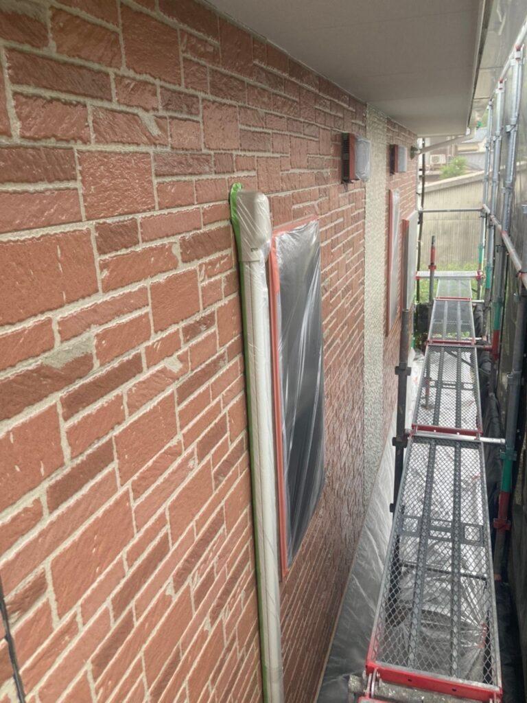 久留米市 外壁クリヤー塗装2回目 写真12