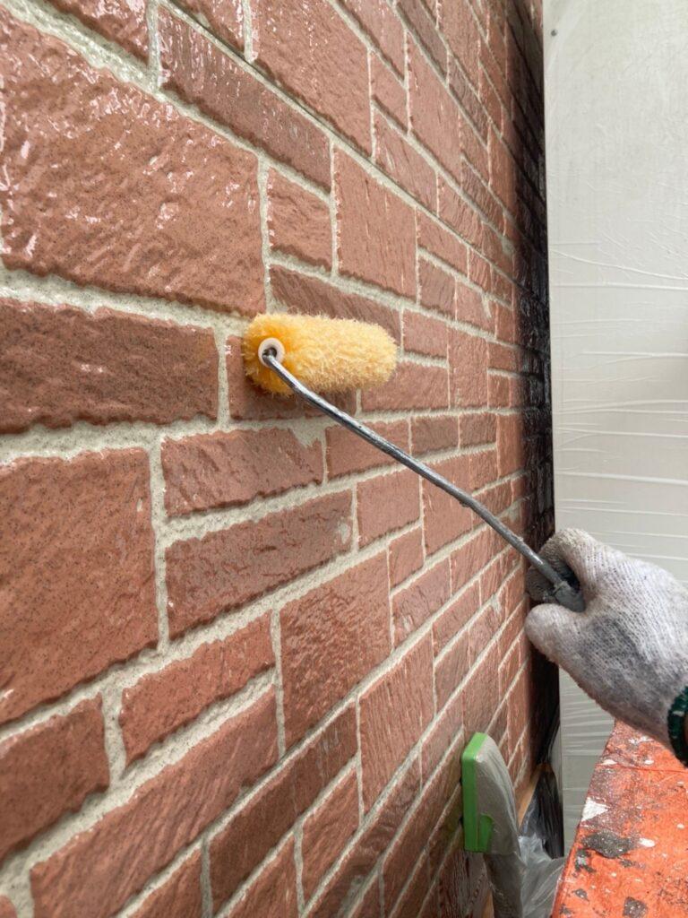 久留米市 外壁クリヤー塗装2回目 写真4