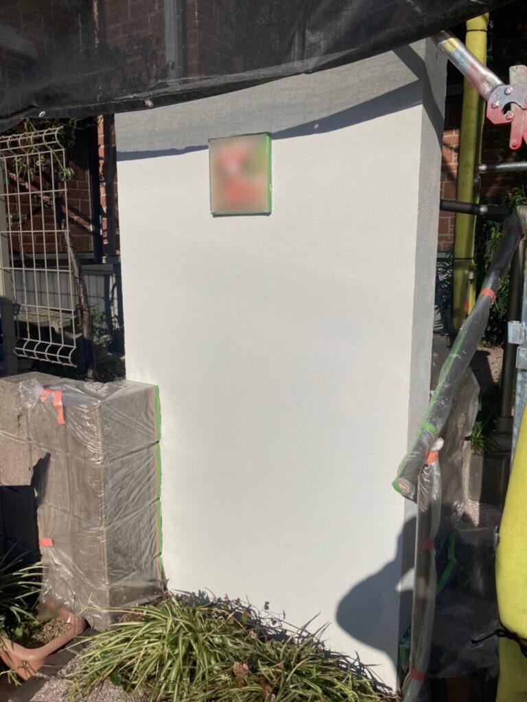 久留米市 付帯塗装 基礎巾木塗装 腰壁塗装 写真16