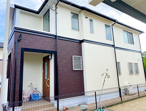 福岡県小郡市 I様邸:フジヤマ建装施工事例